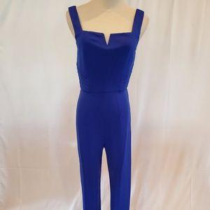 2 for $40 Sale NWT Royal Blue Square Neck Jumpsuit